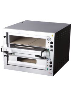 Pizza pec dvoupatrová L 12 x pizza Ø 320 mm | RED FOX, E-12-L