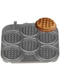 Forma na gofry Waffle Coin, 6xØ80 mm | NEUMARKER, 32-40732